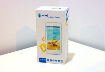 THL W100S unboxing