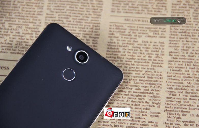 Elephone P7000 camera fingerprint