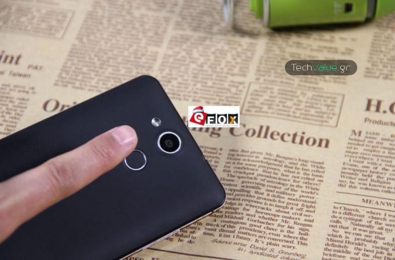 Elephone P7000 fingerprint hands on