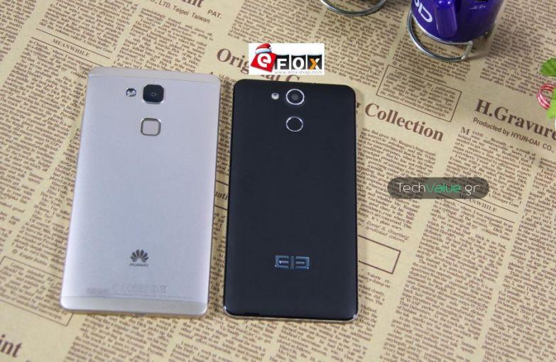 Elephone P7000 huawei mate 7 rear fingerprint