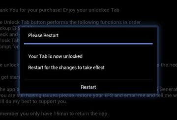 Sony Xperia Bootloader Unlock