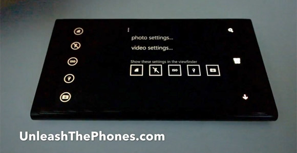 Windows Phone 8.1 Camera ui