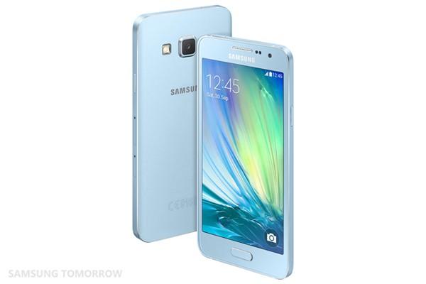 Samsung Galaxy Alpha 3 blue