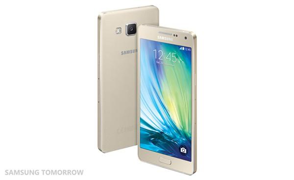 Samsung Galaxy Alpha χρυσο