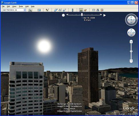 Google Earth Pro sample