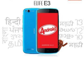 MT6589 KitKat 4.4 Android, το Gionee Elife E3 θα είναι το πρώτο! 3