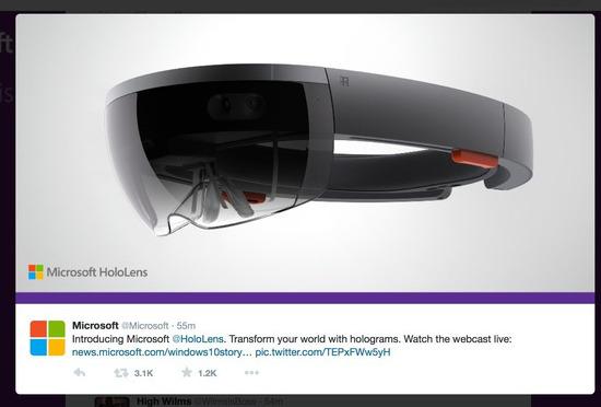 Microsoft HoloLens τι είναι βίντεο επεξηγηση