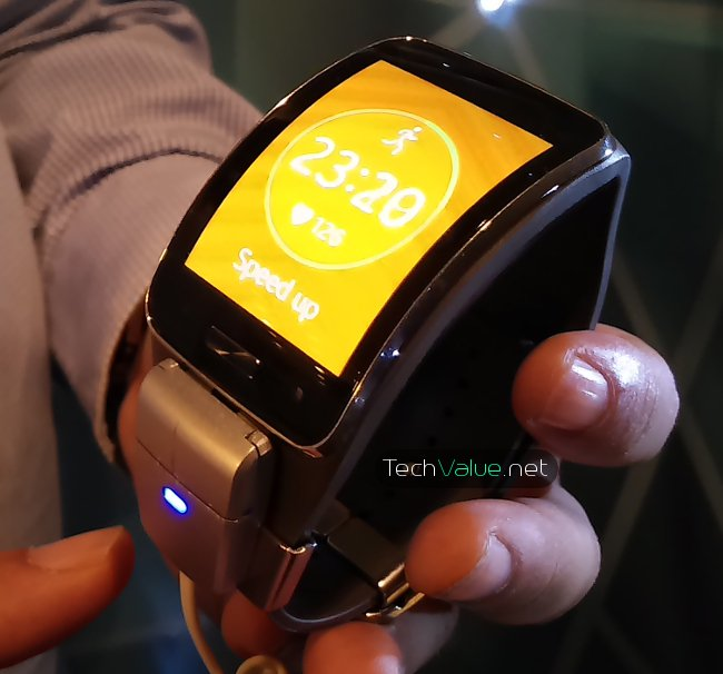 Samsung Gear S Health Fit App