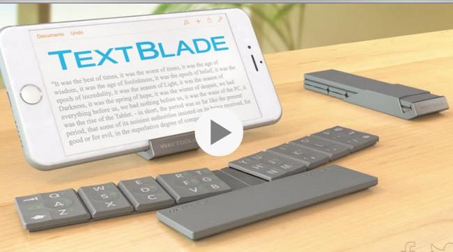 WayTools TextBlade φορητο πληκτρολογιο