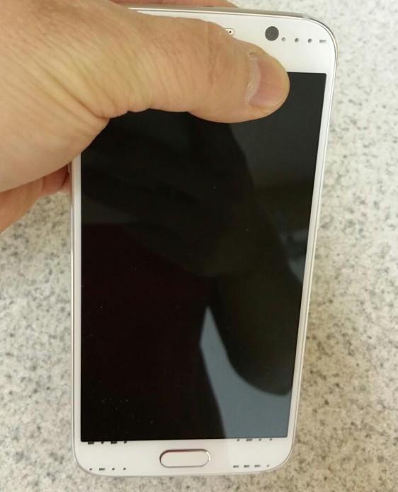 Samsung Galaxy S6 front οθονη