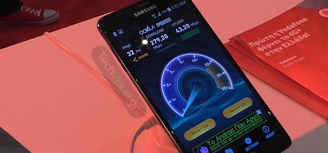 Vodafone 4G+ Samsung Galaxy Note 4