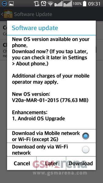 LG L90 Android lollipop root