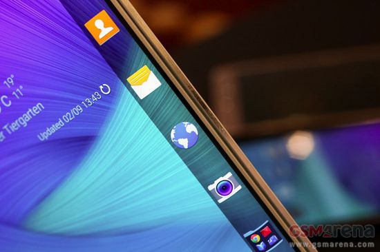 Galaxy Note Edge apps