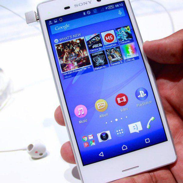 Sony Xperia E4 Aqua