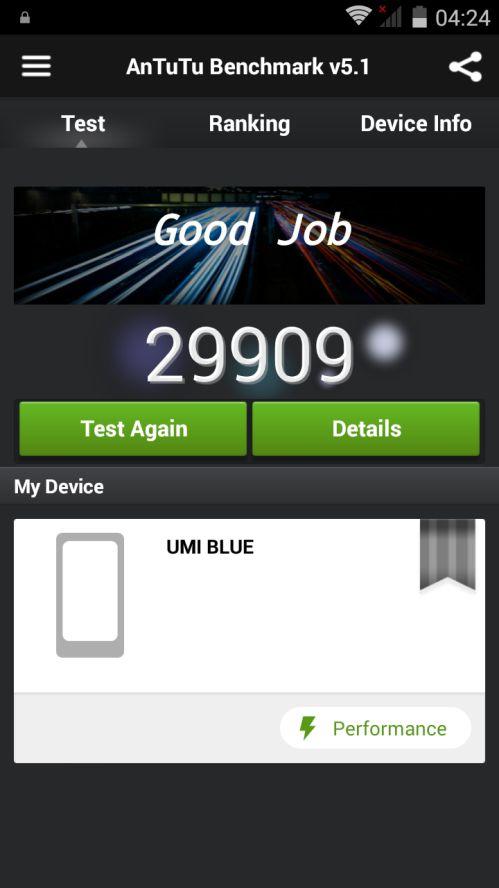 UMI Hammer antutu benchmark