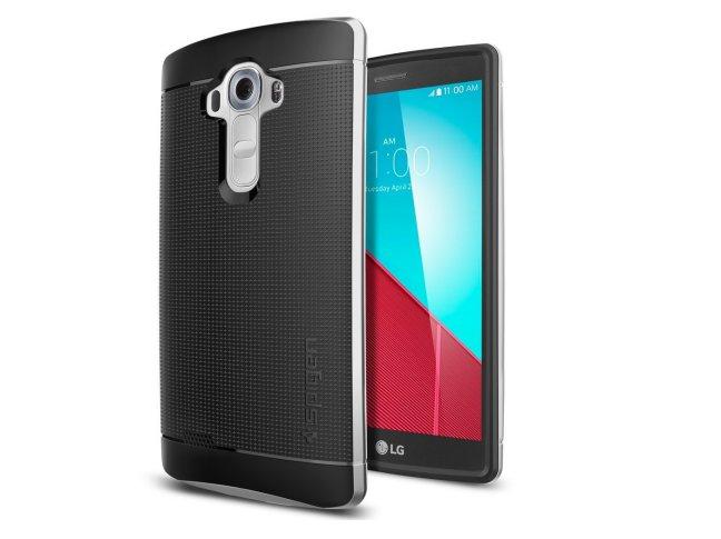 Spigen-LG-G4-Neo-Hybrid-case-with-metallized-buttons