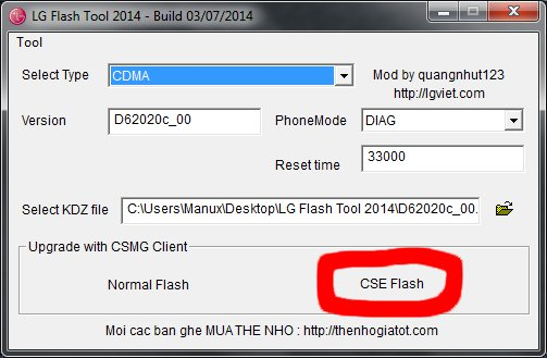 LG flash tool 2014 g2 mini lollipop