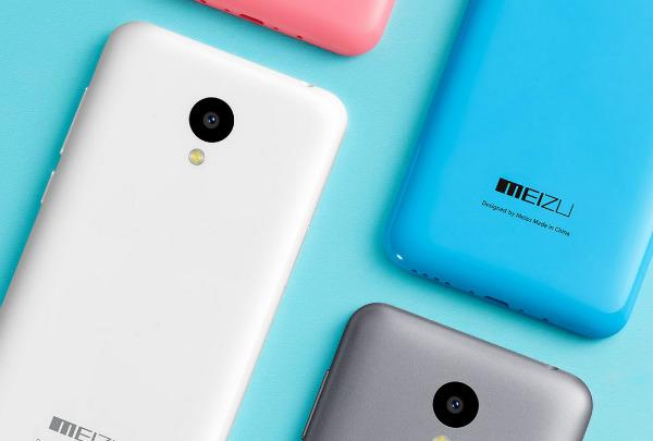 Meizu M2 χρώματα