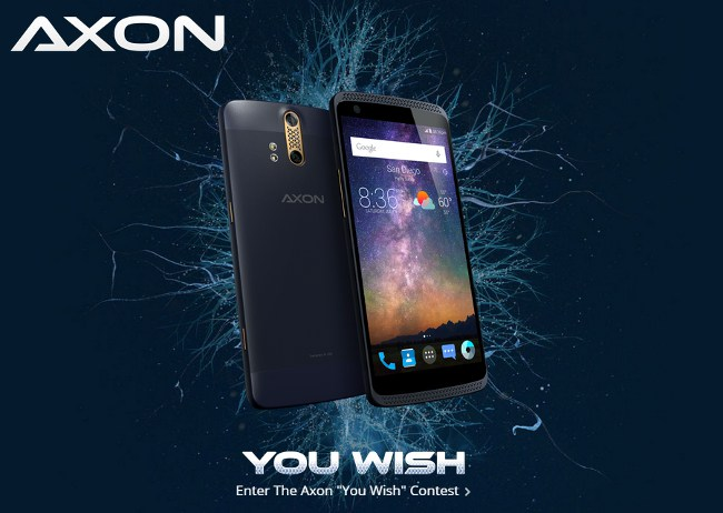 ZTE Axon ναυαρχίδα smartphone