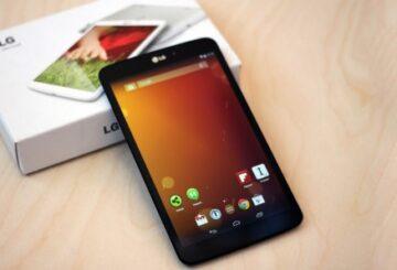 LG G Pad 2 tablet