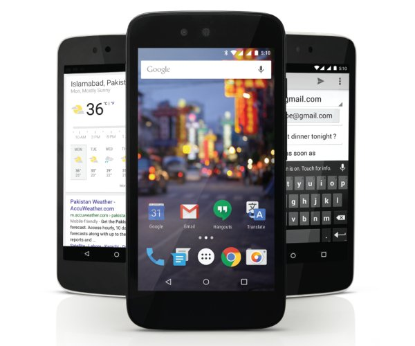 QMobile A1 android one smartphone