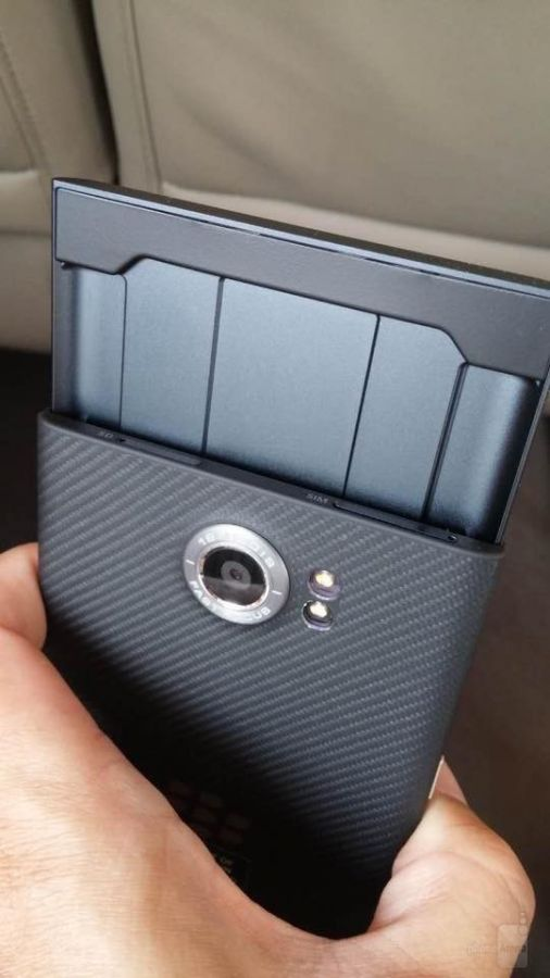 BlackBerry Priv capacitive keyboard