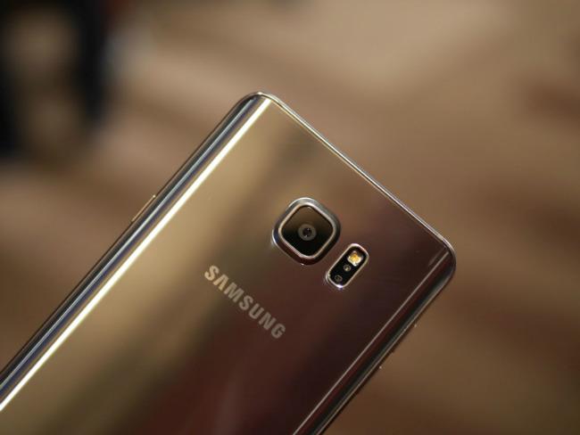 Samsung Galaxy Note 5 camera