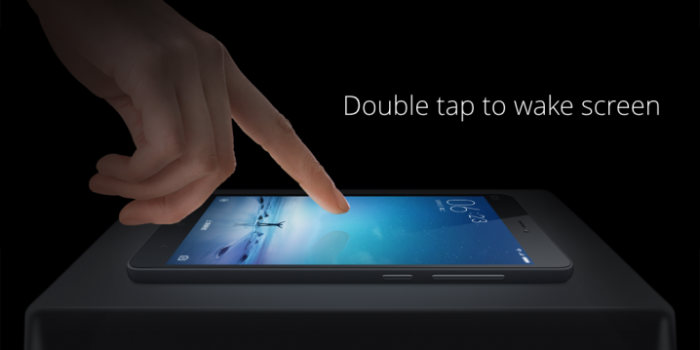 tap to wake smartphone xiaomi