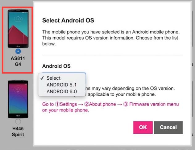 LG Android 6.0 Marshmallow ενημέρωση
