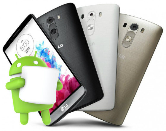 LG G3 Marshmallow android 6.0