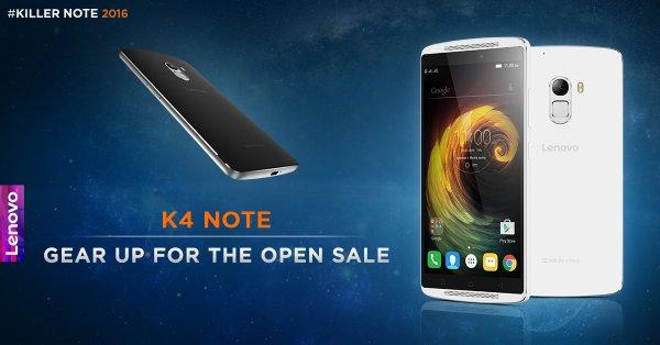 lenovo k4 note smartphone