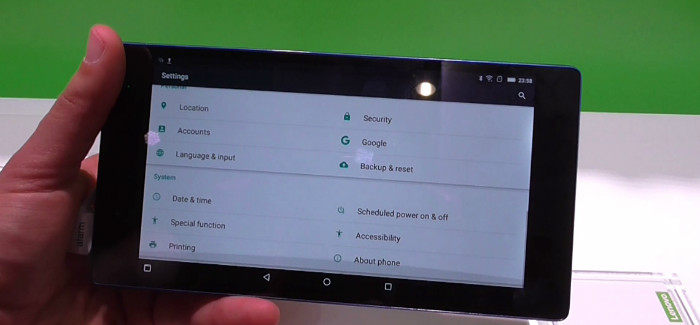 Lenovo Tab 3 7 android tablet κινητο