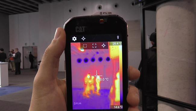 CAT S60 hands-on video