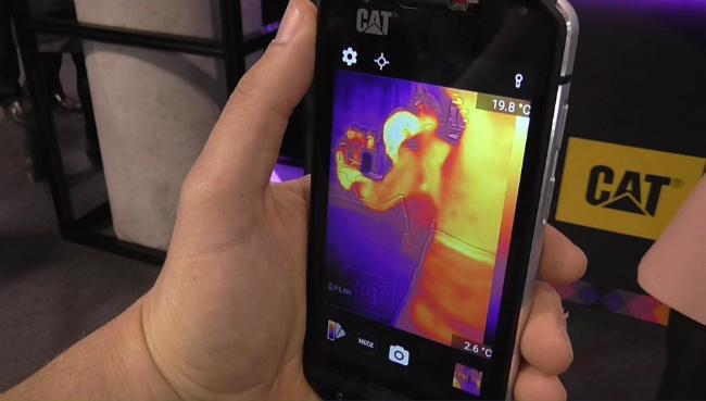 CAT S60 θερμικη καμερα