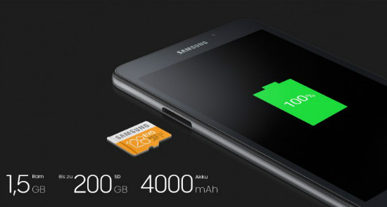 Samsung Galaxy Tab A 7 2016 Tablet