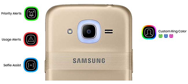Samsung Galaxy j2 2016 glow