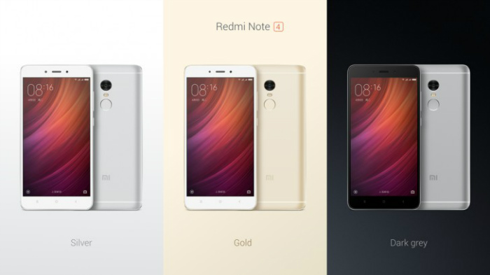 xiaomi redmi note4 χρωματα