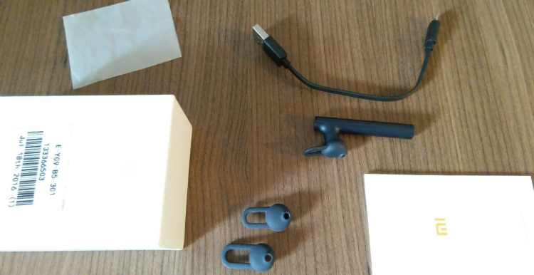 Xiaomi Mi Bluetooth Headset unboxing