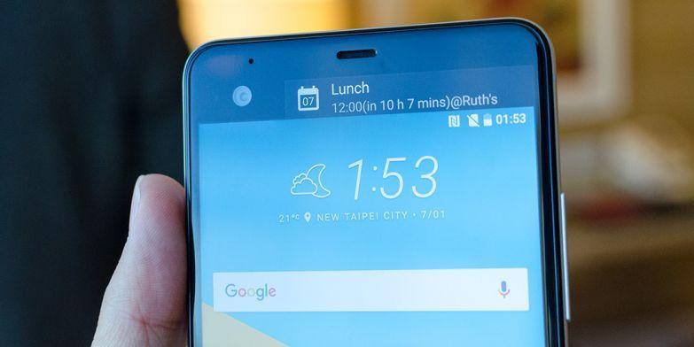 HTC U Ultra Secondary Display