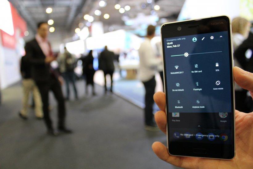 Nokia 5 notification