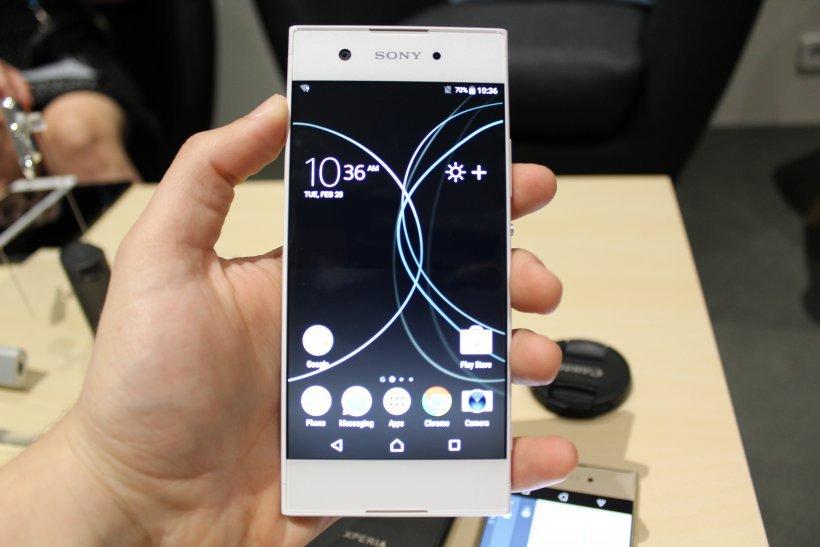 Sony Xperia XA1 λευκο