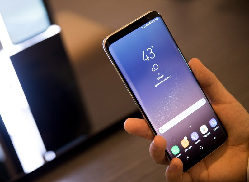 Samsung Galaxy S8 (hands on)