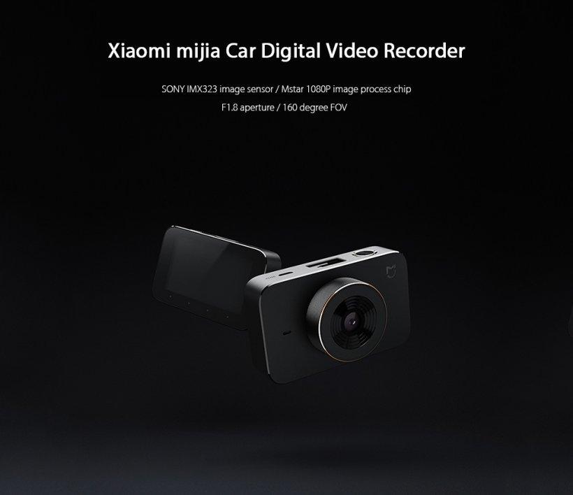 Xiaomi Mijia dashcam 1