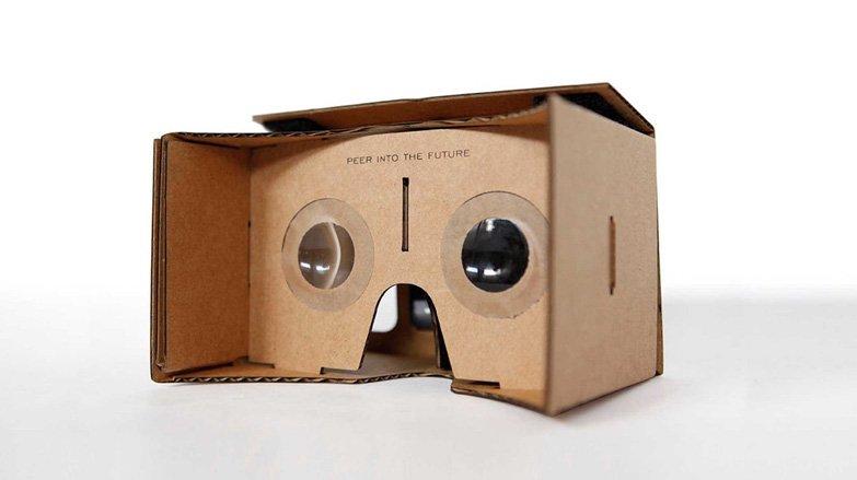 google cardboard εικονικη πραγματικότητα