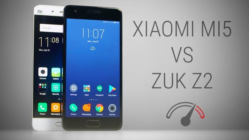 ZUK Z2 vs xiaomi mi5
