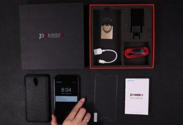 Ulefone Power 2 κινητο μεγαλη μπαταρια review unboxing κουτι παραλκομενα