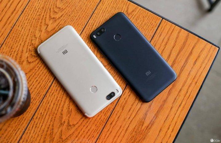 Xiaomi Mi 5X χρώματα