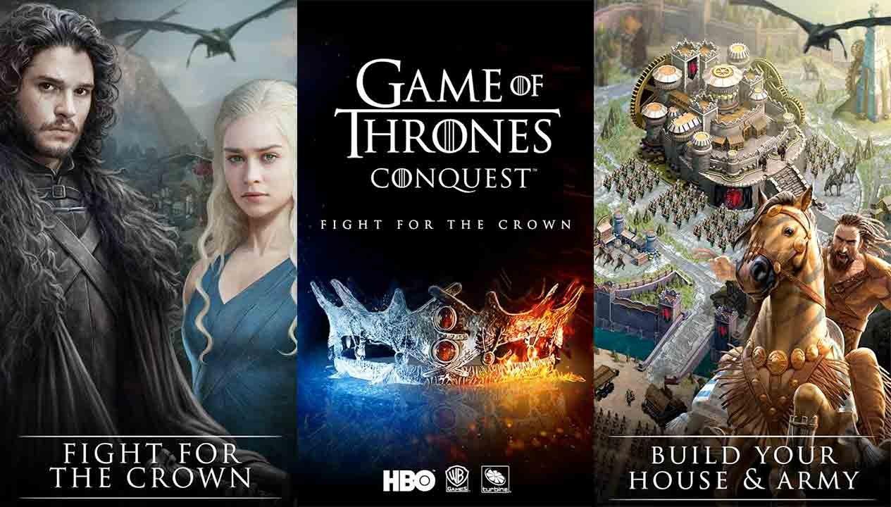 Game of Thrones παιχνίδι για το κινητό