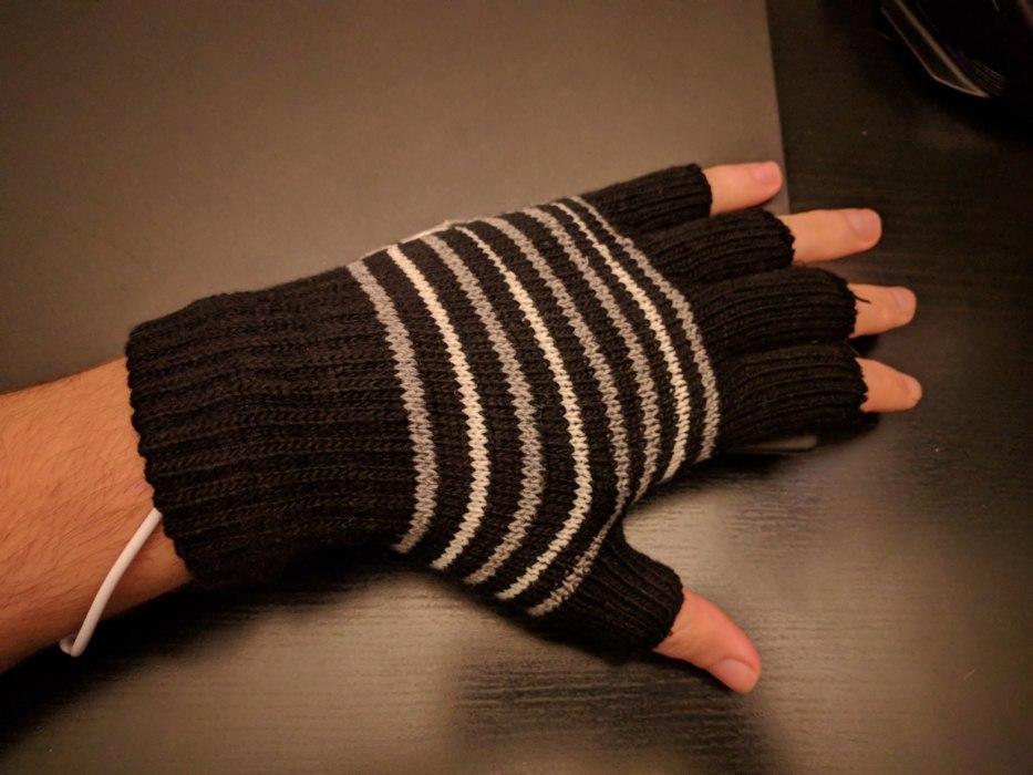 usb gloves γάντια θερμαινόμενα