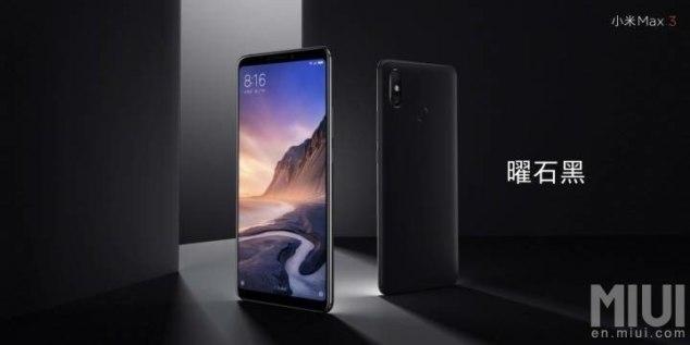 Xiaomi Mi Max 3 Χαρακτηριστικά